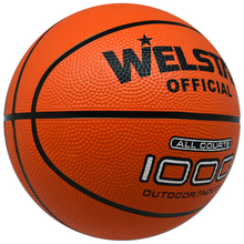 Orange cheap price custom printed rubber basketball