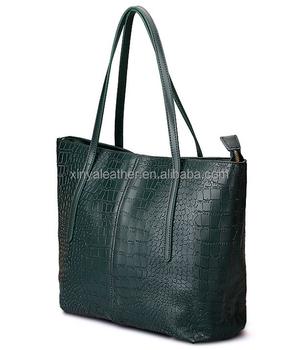 Crocodile Leather Totes Bags Brand Name Handbags