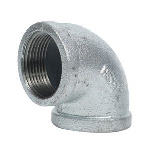 Galvanized malleable iron steel sgp elbow