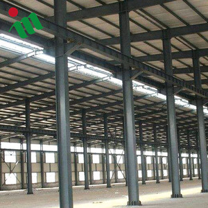 xgz eps sandwich wall prefabricated steel farme structure workshop
