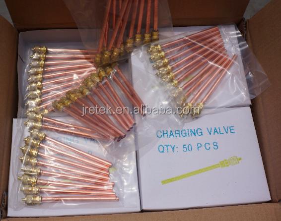 copper TUBE CHARGING VALVE 1/4