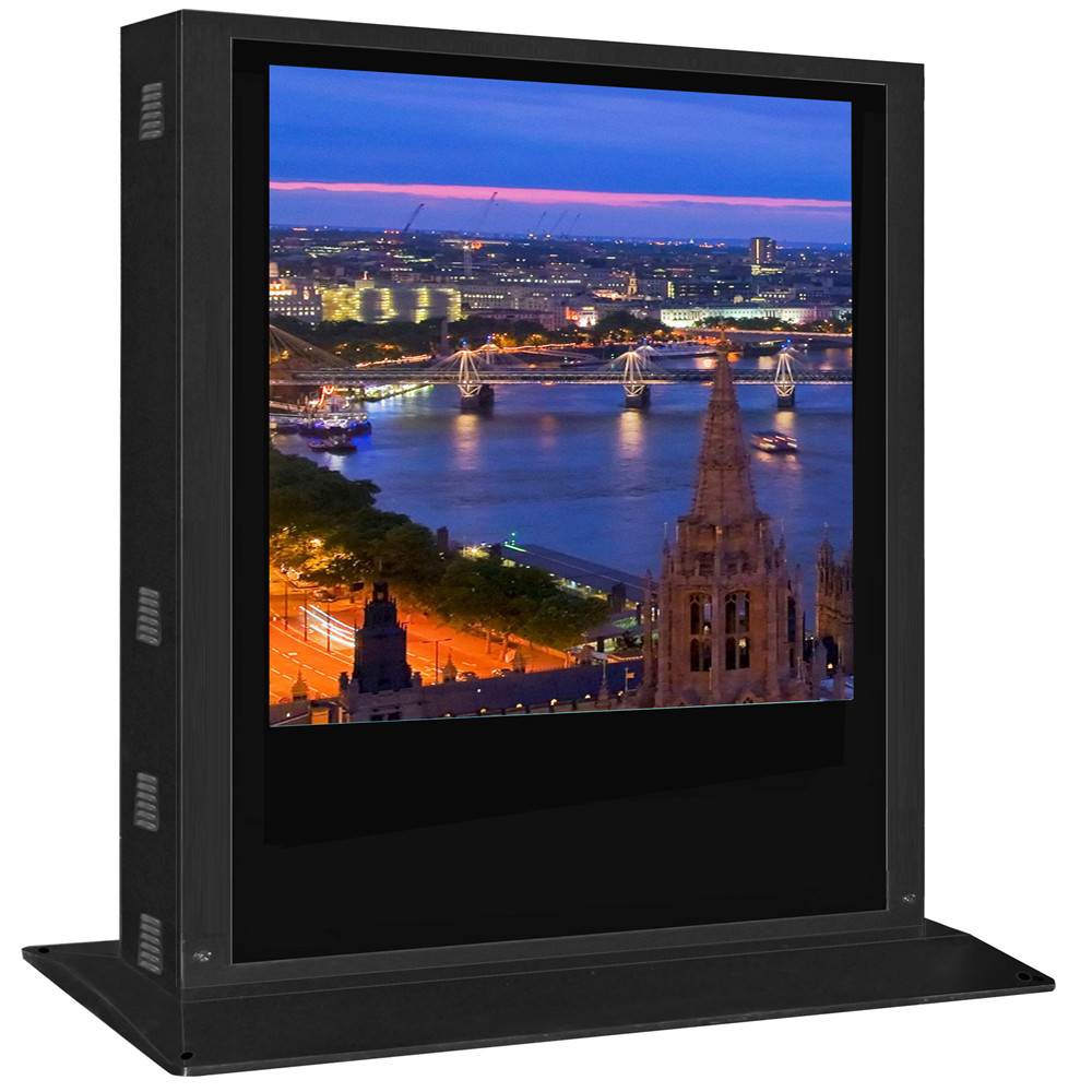 72 Inch floor stand lcd advertising player for malls/supermarket/stores