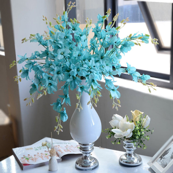 Cheap artificial blue flowers new house designs colors artificial whole silk flowers singapore orchid flower mightylinksfo