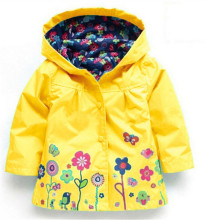 Children winter outwear. Hooded jacket, Girls Jackets, jacket & Coats, Children's Coat, Spring/autumn fashion children raincoat