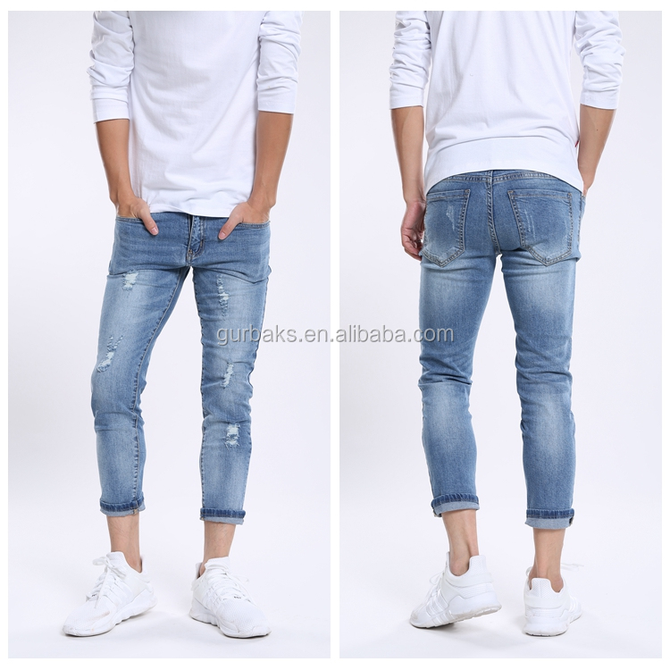Formal Trousers Hot Selling Customized Brand Jeans
