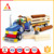 Newest popular ABS natural plastic toys educational preschool toys for kids play tractor