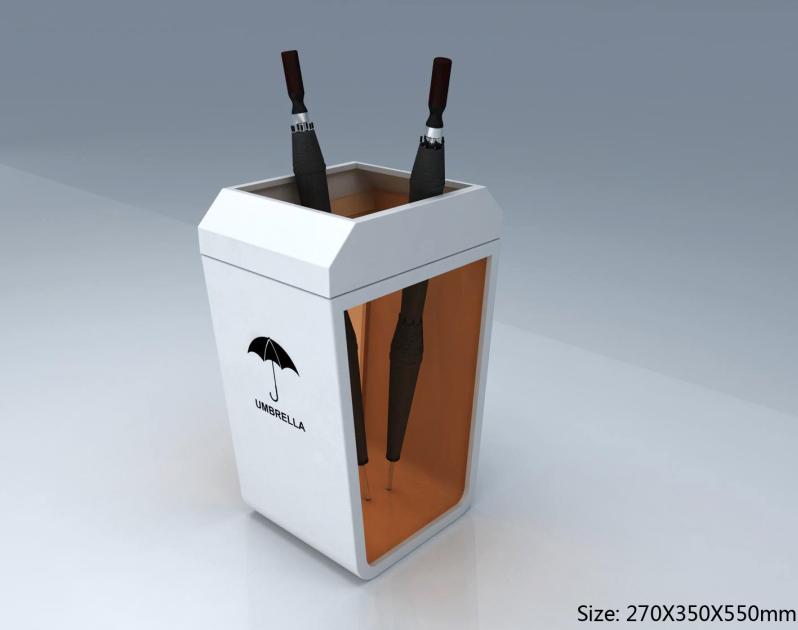 New design exquisite acrylic umbrella display stand holder