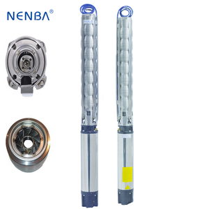 Excellent efficiency and reliability high pressure vertical centrifugal submersible water pump parts from china