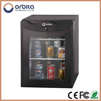 Wholesale 40L Absorption Hotel Mini Bar Cabinet Refrigerator