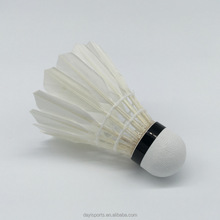 hot sale duck feather most durable natural feather badminton shuttlecock manufacturer china shuttlecock goose feather badminton