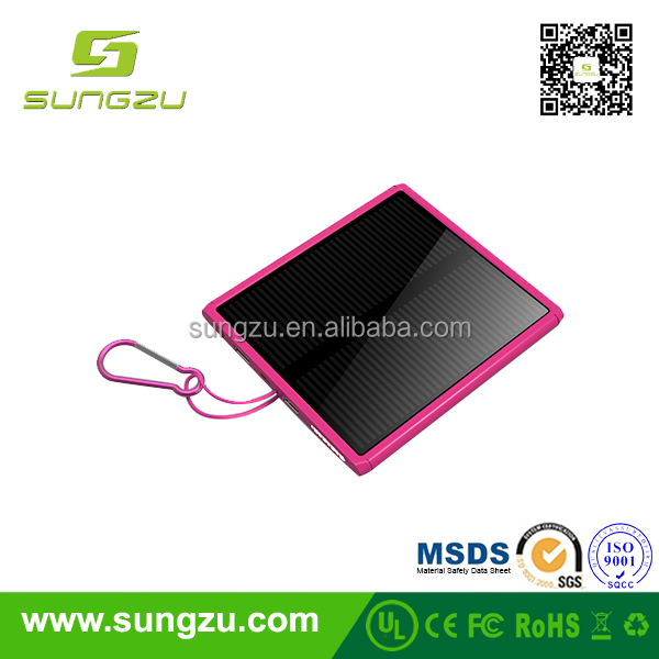 Fly saucer solar power bank,high capacity solar charger,2016 newest and fashion solar mobile power bank power support
