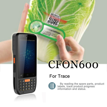 Factory price Android phone touch screen handheld barcode scanner