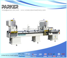 Aluminum-PVC Profiles Double Head Cutting Machine / Manual Double Head Saw/Saw King