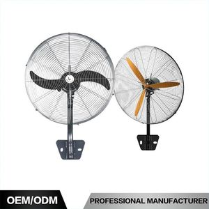"Aluminum Blades 20"" Wall Fan Power Consumption Fan Wall Mount Bracket With Oscillating Fan Parts"