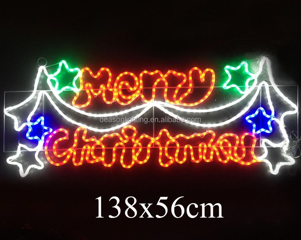 Christmas Lighted Sign.Decorative Merry Christmas Letter Banner Christmas Motif Light Buy Merry Christmas Led Motif Light Merry Christmas Motif Light Merry Christmas