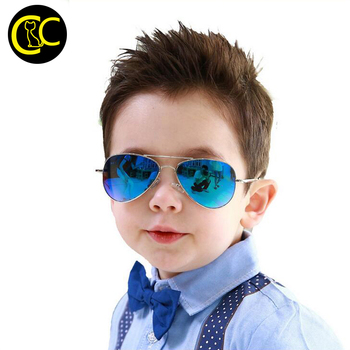 b3820c97b1b Fashion Classic Kids Sunglasses pilot Children Sun glasses Pilot Baby  Sunglasses 100%UV Oculos De