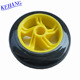 Kehang mixed color jumping electric 3 scooter wheel 125mm for super Rider