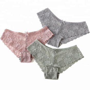 1850 Young Girls Thong Briefs Lingerie Women Underwear Sexy Lace Panties