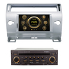 Wince 6.0 car radio for Citroen old C-quatre with GPS/Bluetooth/Radio/SWC/Virtual 6CD/3G internet/ATV/iPod/DVR