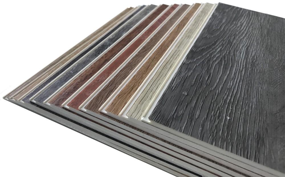 Plastic vinyl klik plank spc hout look vinyl vloeren tegels voor