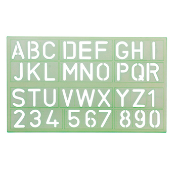 large template plastic letter stencil ruler alphabet stencil ruler buy letter templatealphabet letteralphabet product on alibabacom