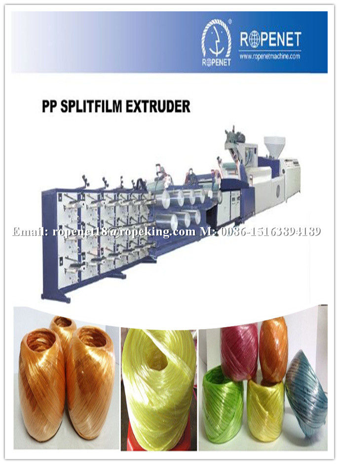 ROPE NET industrial-agricultural PP string extruding machine