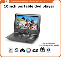 Shenzhen longping electronics radio portable dvd player with vga portable