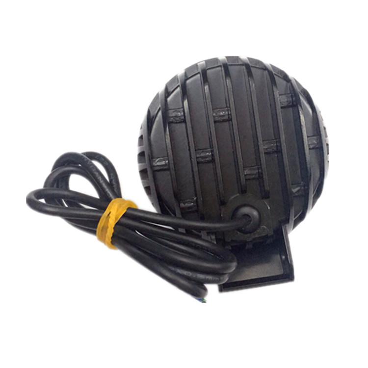 factory direct sale 9 led headlamp daytime running light 12V-24V LED motorcycle headlight