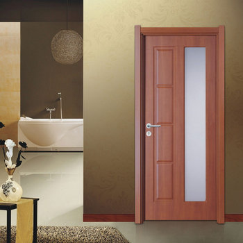 Modern Interior Pvc Panel Wood Glass Bedroom Door - Buy Wood Glass Bedroom  Door,Pvc Door For Rooms,Interior Wooden Panel Doors Product on Alibaba.com