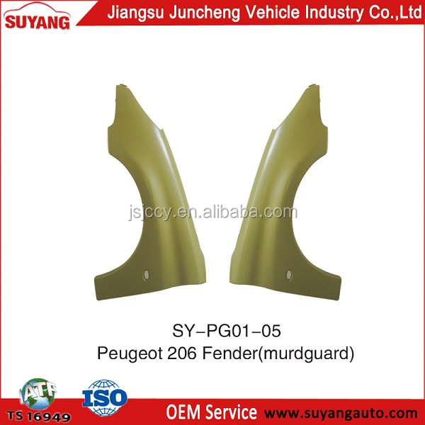 Peugeot 206 Auto Front Fenders/Wings Accessories