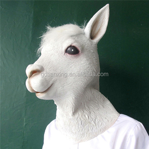 goat and sheep Head Mask Latex Animal Costume Prop Gangnam Style Toys Party Halloween Mask