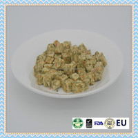 100% natural frozen dried dog treats food ,vegetable pet snacks