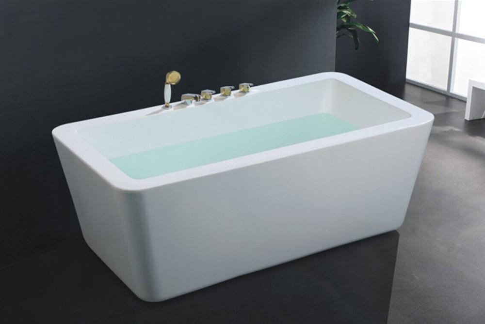 Vasca Da Bagno Usato : Hs b freestanding vasca da bagno usata chiaro profonda acrilico