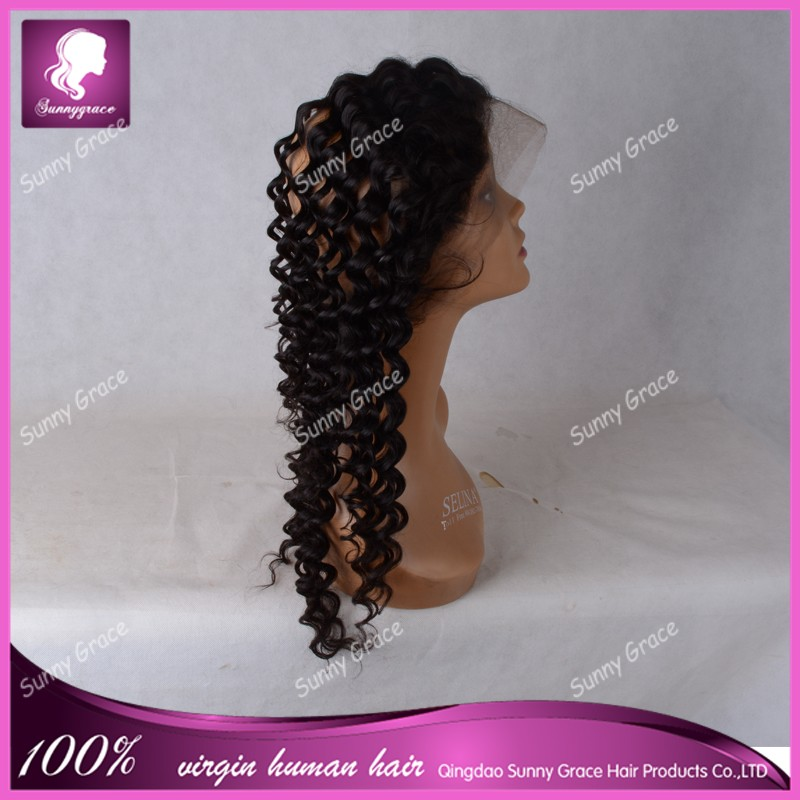 Curly Virgin Brazilian Human Hair 360 Lace Frontal Closure Cheap Back Lace Band Frontal Closure With 360 Lace Band Frontal