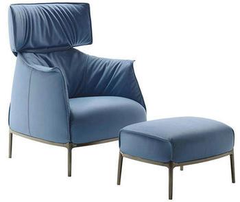 Modern Lounge Chair Archibald Chaise Lounge Chair High Seat Leisure Sofa  Chair