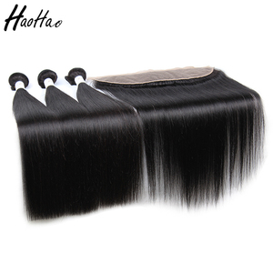 Very cheap brazilian virgin high density human hair lace frontal with baby hair