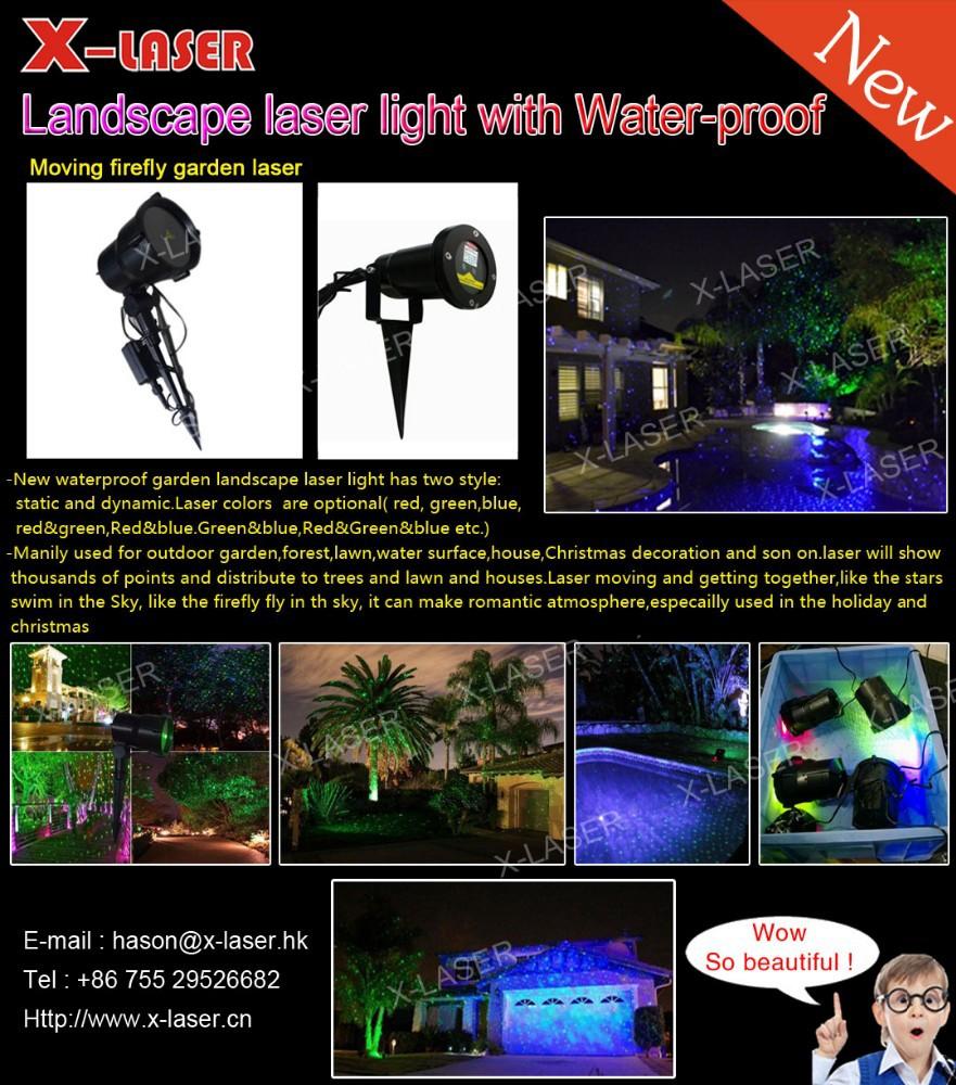 Led Christmas Tree Light Laser