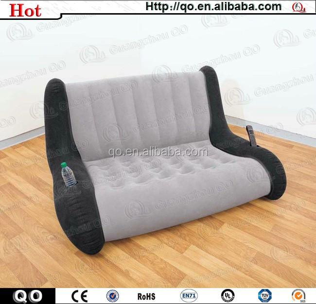 Customized novel design fashionable inflatable sofa for sale