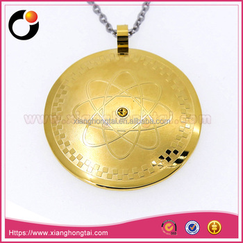 Bio scalar energy pendant gold plated stainless steeltitanium bio scalar energy pendant gold plated stainless steeltitanium pendant aloadofball Images