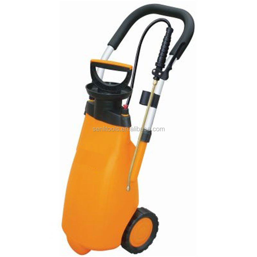 12 Litre Trolley Power Washer Knapsack Garden Car Washing Pressure Sprayer