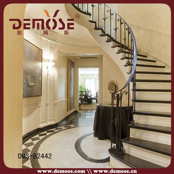 Barandas para escaleras de hierro excellent diseo moderno for Escalera madera sodimac
