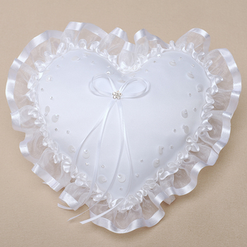 R0478 The new wedding ring pillow wedding ring pillow with ear hole