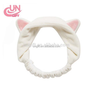 China Hot sale wholesale cat ears cute headband wash the face headband