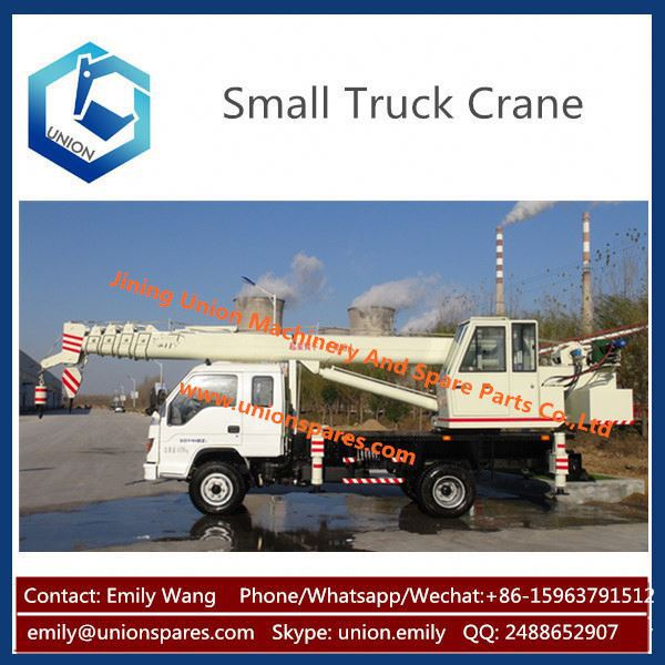 Made in China 12 ton Mobile Crane ,8 ton 10 ton Mobile Truck Crane ,Mini Pickup Truck Crane Best Price