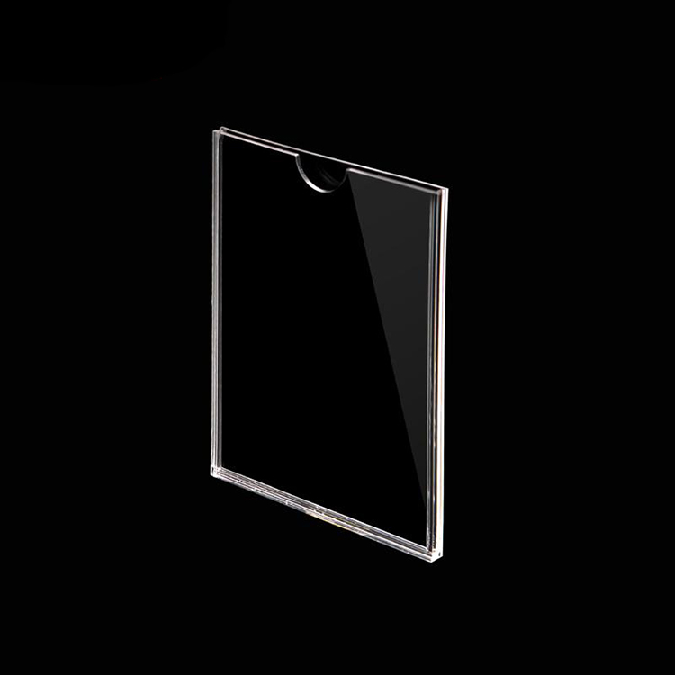 3mm acrylic display stand acrylic sign holder acrylic document stand