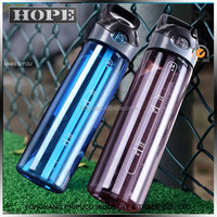 China manufacturer hard tritan material plastic drinking water bottle