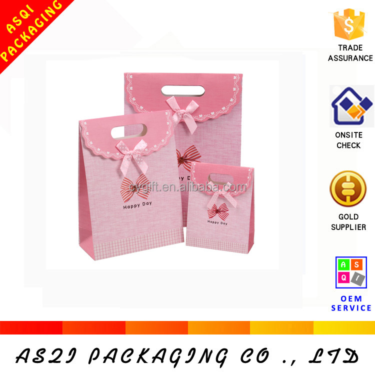 alibaba custom recycled thin paper bags packaging