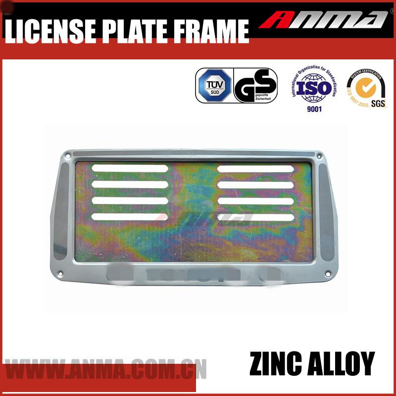 Car scrolling led license plate frame