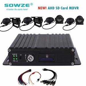 Multi Channel Car Dvr/Taxi Camera System with 3G, GPS WIFI and G-sensor
