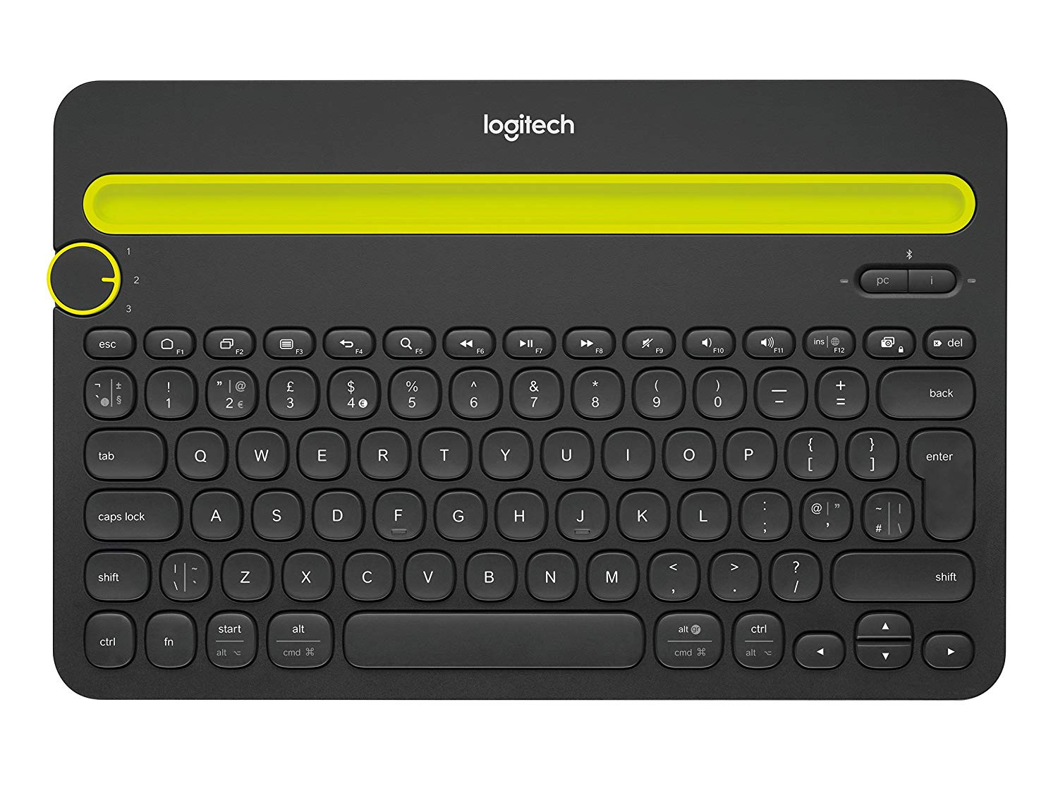 Logitech Multi-Device K480 - Keyboard - Bluetooth - UK Layout